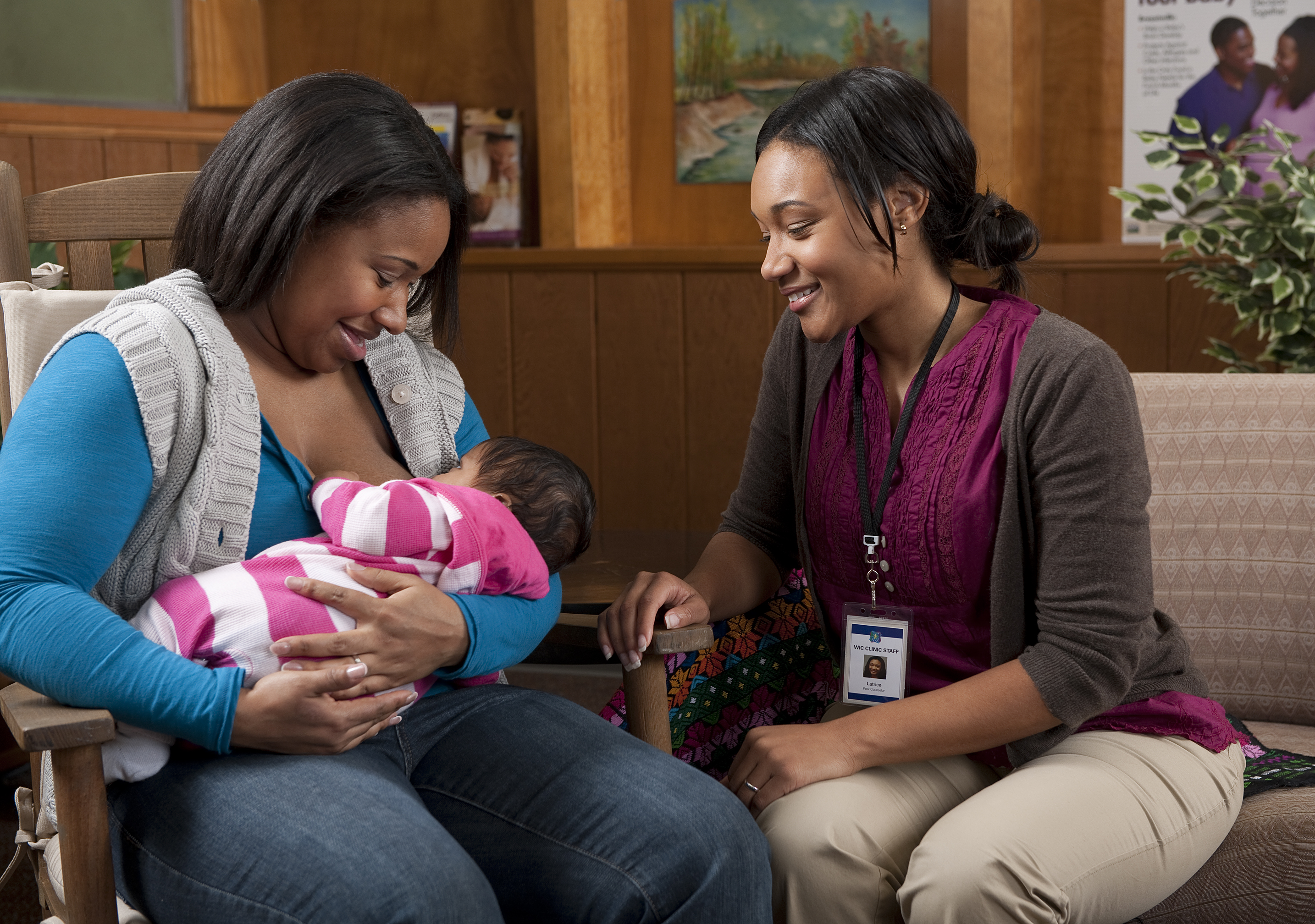 Breast feeding counselors