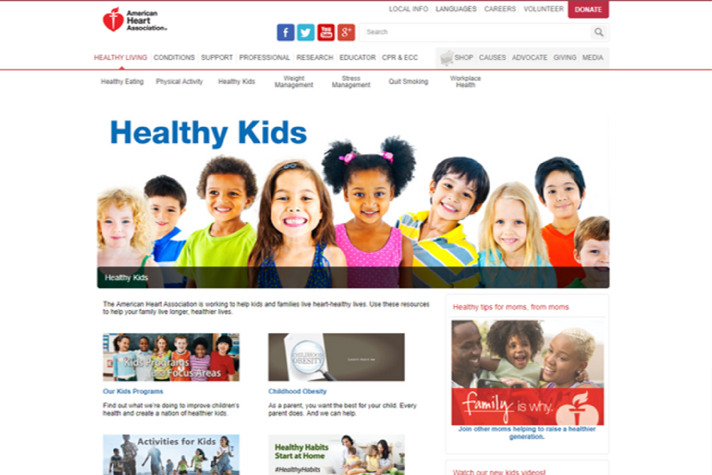 heart healthy kids
