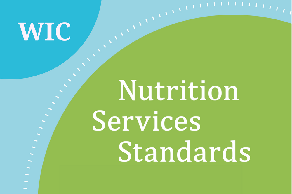 WIC Nutrition Services Standards resource card