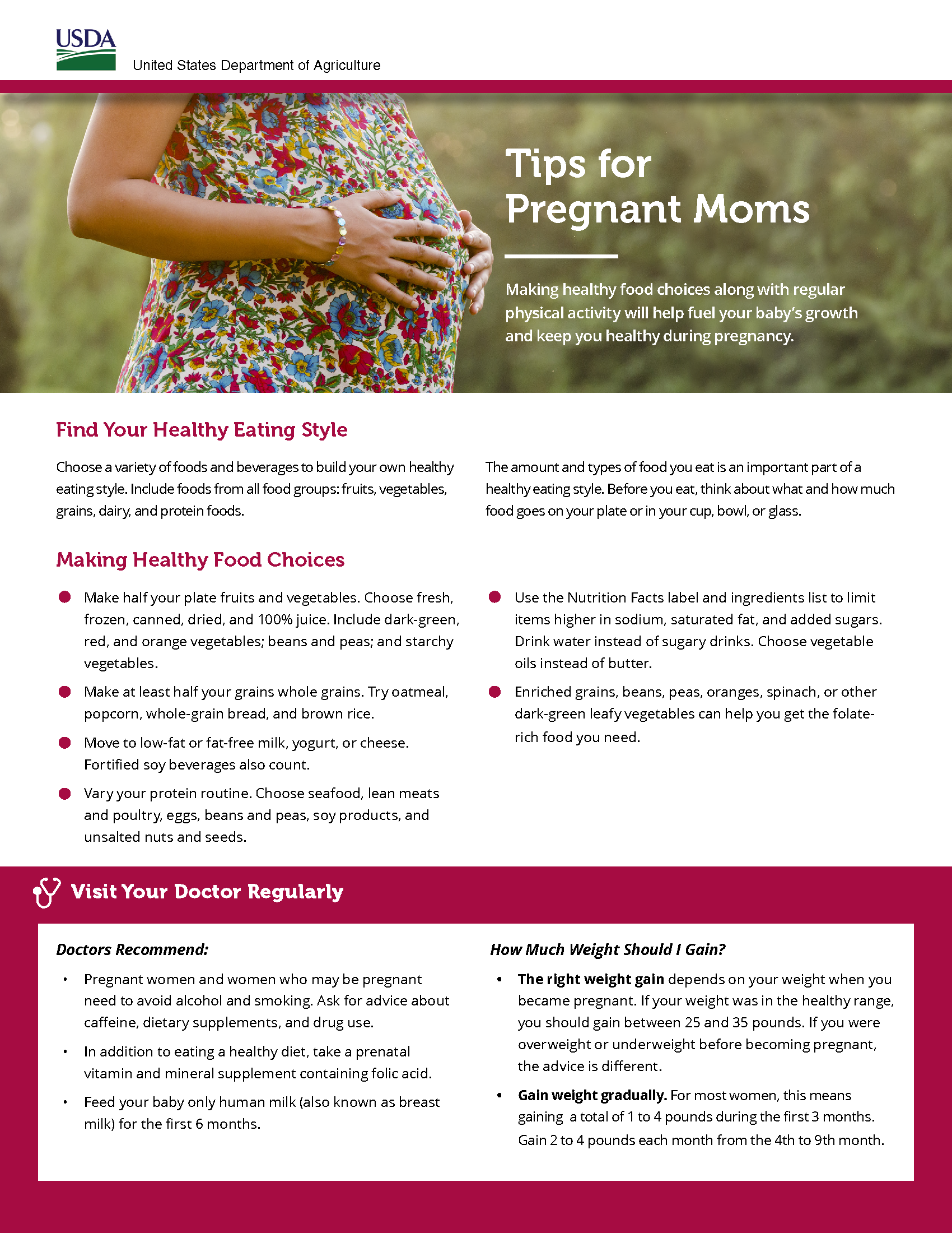 Tips for Pregnant Moms