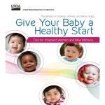 Give Your Baby a Healthy Start (English)