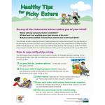 Healthy Tips for Picky Eaters Fact Sheet