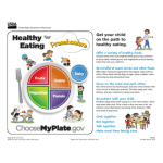 Healthy Eating for Preschoolers (English)